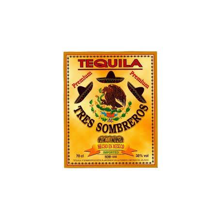 TEQUILA TRES SOMBREROS LT.1 GOLD