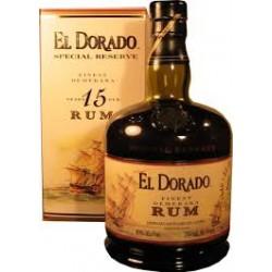 RHUM EL DORADO 15 ANNI