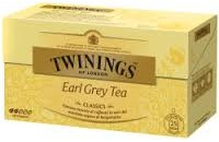 TE TWININGS X25 EARL GREY TEA