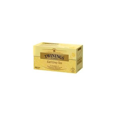 TE TWININGS X25 EARL GREY TEA