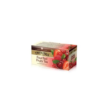 TE TWININGS X25 FOUR RED FRUITS