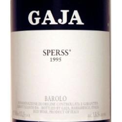 VINO BAROLO SPERSS GAJA '13 CL.75