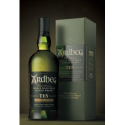 WHISKY ARDBEG ISLAY MALT 10 YEARS