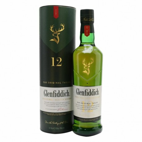 WHISKY GLENFIDDICH 12 ANNI CL.70