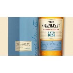WHISKY GLENLIVET FOUNDERS CL.70