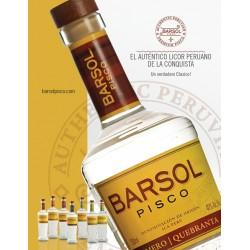 LIQ.PISCO BARSOL QUEBRANTA