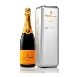CHAMPAGNE CLICQUOT METAL FRIDGE CL.75