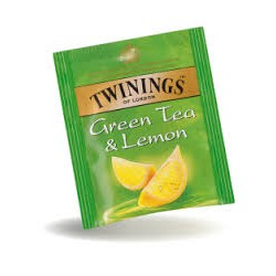 TE TWINING X25 GREEN TEA LEMON