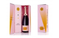 CHAMPAGNE CLICQUOT CALL ROSE CL.75