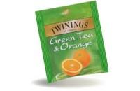 TE TWININGS ORANGE GREEN X25