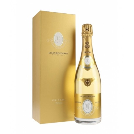 CHAMPAGNE ROEDERER CRISTAL 2012 CON AST.
