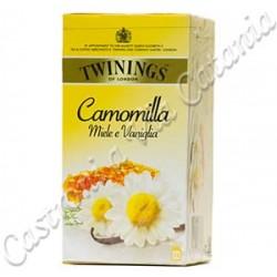 CAMOMILLA TWININGS MIELE E VANIGLIA