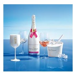 CHAMPAGNE MOET ICE ROSE' CL.75