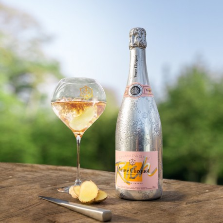 CHAMPAGNE CLICQUOT RICH ROSE' CL.75