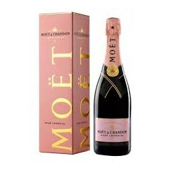 CHAMPAGNE MOET ROSE' IMPERIALE CL.75*
