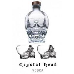 VODKA CRYSTAL HEAD +BICCHIERI