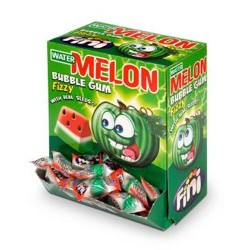 GOMMA MELON BUBBLE GUM X200