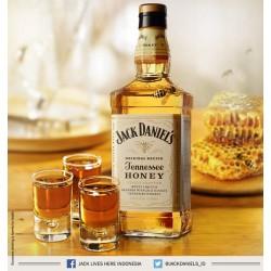 WHISKY JACK DANIEL'S HONEY CL.70